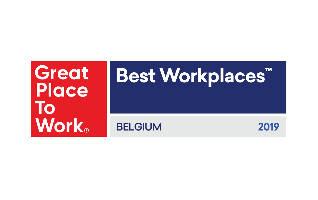 Great Place To Work Belgium logo