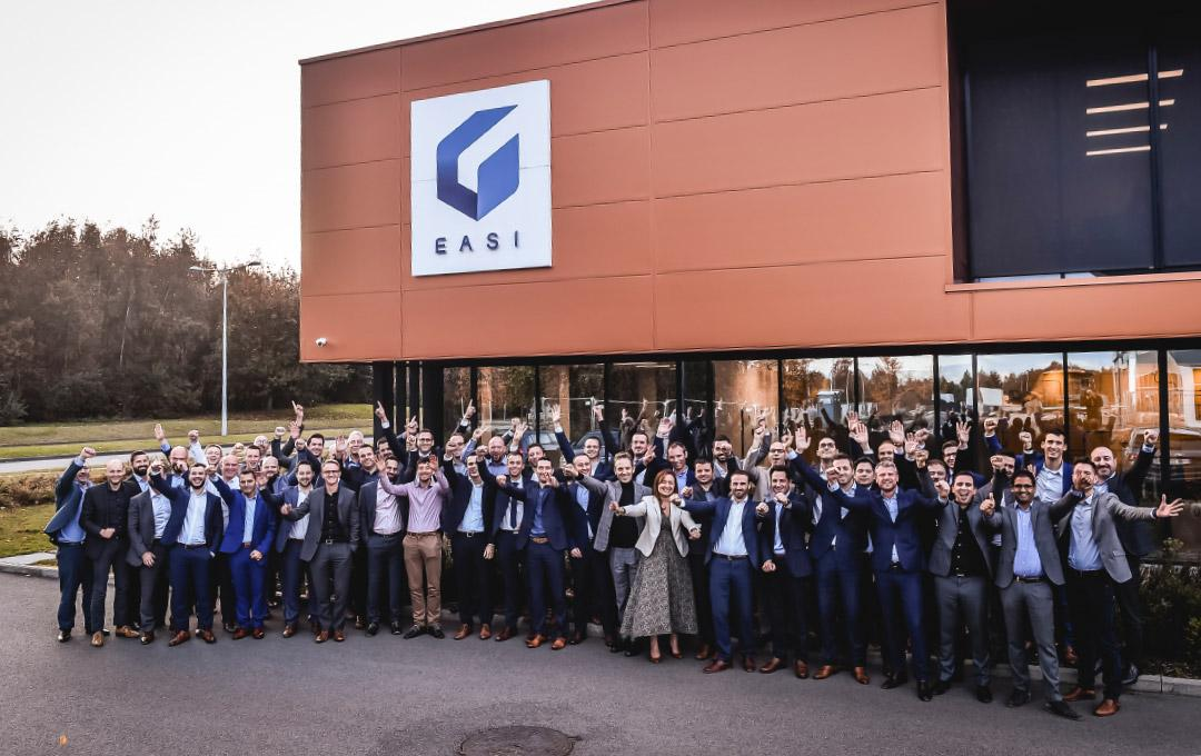 EASI Shareholders team at Nivelles