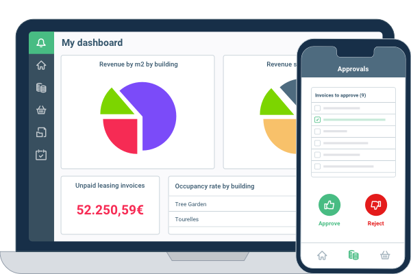 Adfinity real estate dashboard