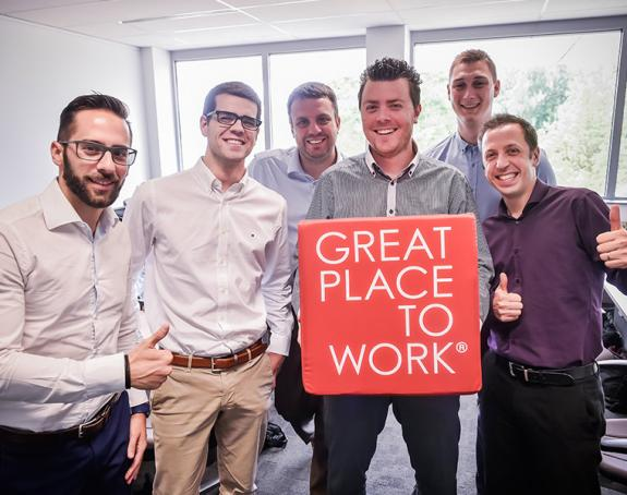 EASI Great Place to Work team